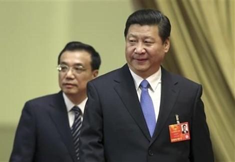 Tập Cận Bình và Lý Khắc Cường.