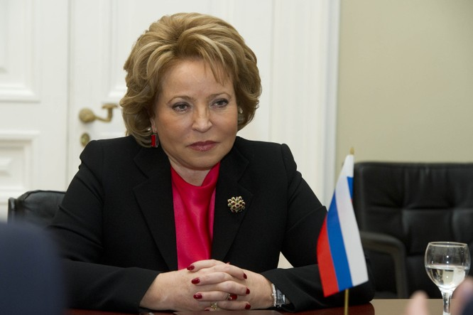 Bà Valentina Matvienko