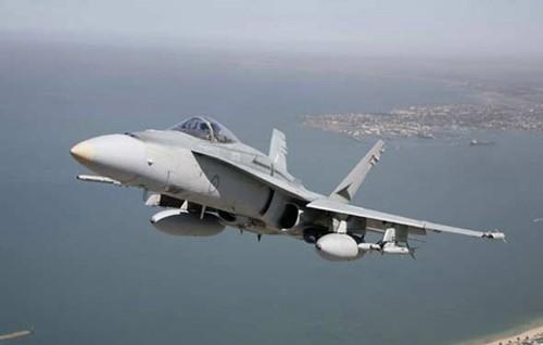 Máy bay chiến đấu F/A-18E/F Super Hornet Hải quân Mỹ. Nguồn ảnh: Internet.