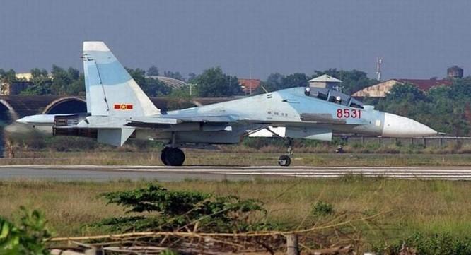 Máy bay chiến đấu Su-30 của Không quân Việt Nam. Nguồn ảnh: Mil.qianlong.com.