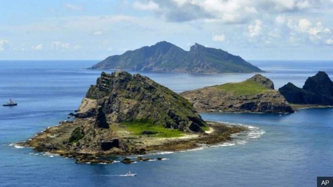 Vùng biển đảo Senkaku. Nguồn ảnh: AP/BBC.