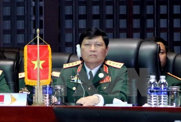 Đại tướng Ngô Xuân Lịch, Phó Bí thư Quân ủy Trung ương, Bộ trưởng Quốc phòng Việt Nam.
