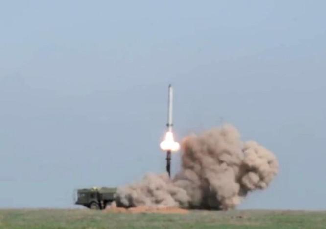 Nga bắn thử tên lửa Iskander-M. Nguồn ảnh: Thời báo Hoàn Cầu, Trung Quốc.