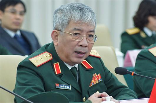 Thượng tướng Nguyễn Chí Vịnh.