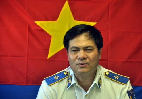 Thiếu tướng Nguyễn Quang Đạm, Tư lệnh Cảnh Sát Biển Việt Nam.