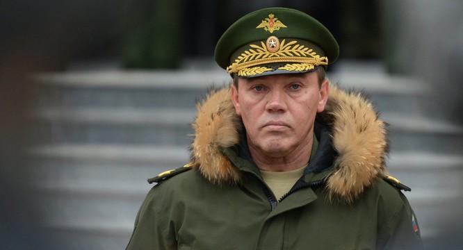 Tổng tham mưu trưởng các lực lượng vũ trang Nga, tướng Valery Gerasimov.