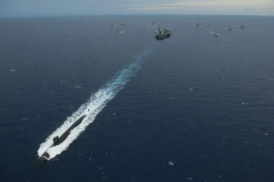 Cụm tấn công tàu sân bay Mỹ. Nguồn ảnh: Internet.