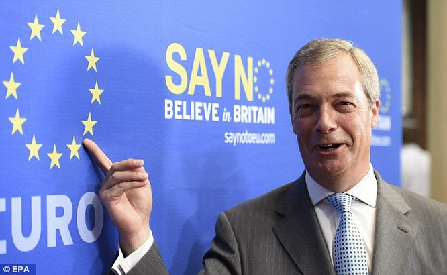 Ông Nigel Farage.