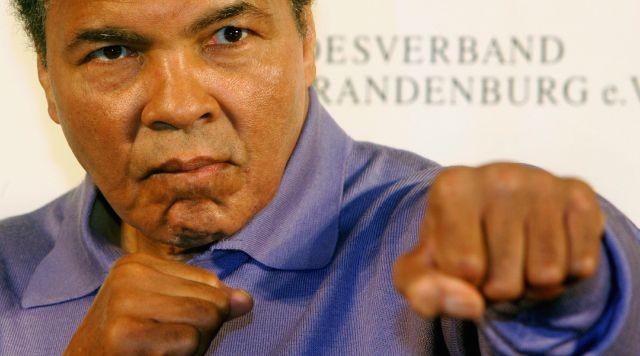 Muhammad Ali khi về già.