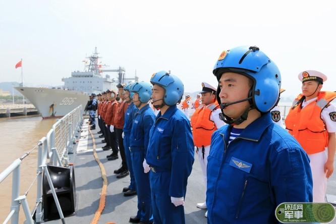 Trung Quốc tăng sức mạnh mềm hải quân bằng cách mạnh tay loại bỏ tham nhũng trong quân đội ảnh 2