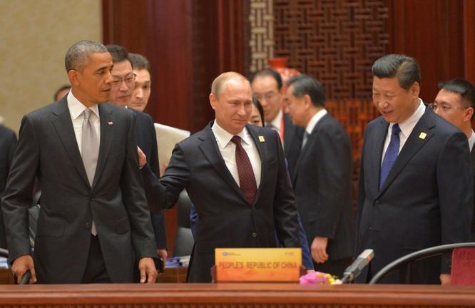 Lãnh đạo Mỹ - Nga - Trung.