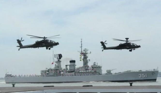Quân đội Indonesia muốn tăng cường tập trận định kỳ với Mỹ và tăng cường sức mạnh quân sự ở quần đảo Natuna. Ảnh: Tin tức Tham khảo.