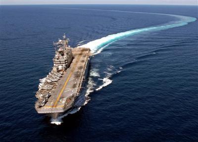 Tàu tấn công đổ bộ Mỹ.