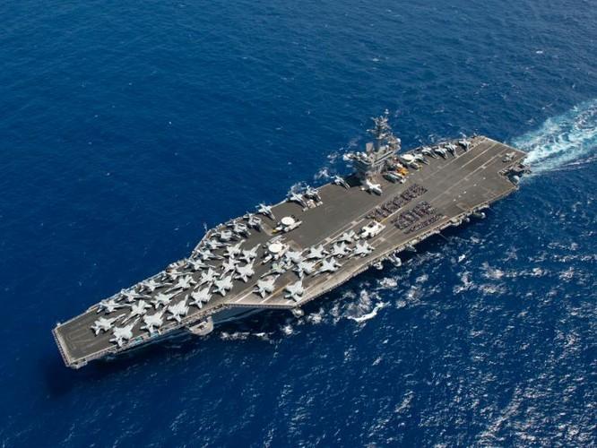 Tàu sân bay của Hải quân Mỹ.