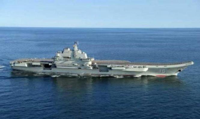 Tàu sân bay Liêu Ninh, Hải quân Trung Quốc.