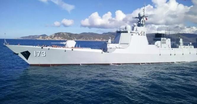 Tàu khu trục tên lửa Trường Sa số hiệu 173 Type 052D Hạm đội Nam Hải, Hải quân Trung Quốc.