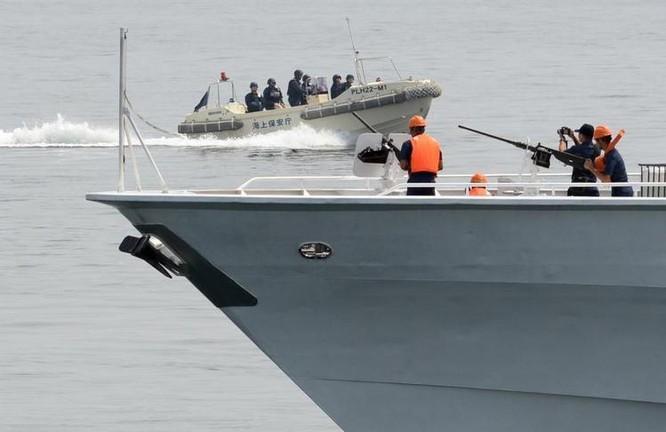 Nhật Bản tổ chức diễn tập chống cướp biển với Philippines ở Biển Đông. Ảnh tư liệu.