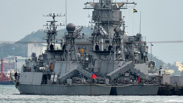 Tên lửa siêu thanh Hùng Phong bố trí trên các chiến hạm của Đài Loan