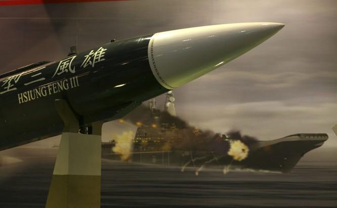 Tên lửa siêu thanh Hùng Phong của Đài Loan