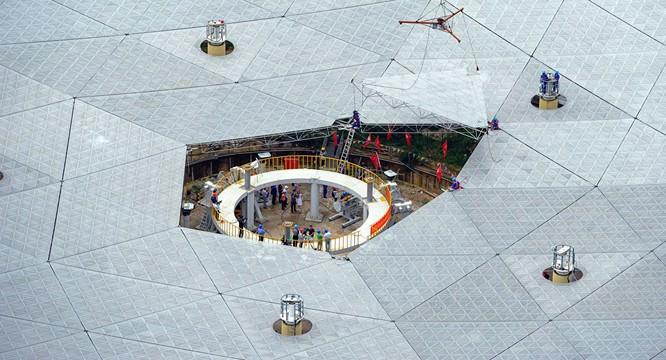 Trung Quốc xây xong siêu kính viễn vọng có thể tìm kiếm người ngoài hành tinh ảnh 1