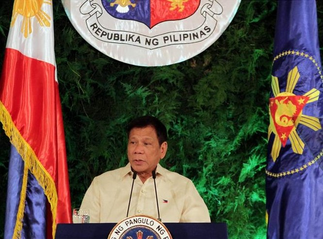 Tân Tổng thống Philippines Rodrigo Duterte