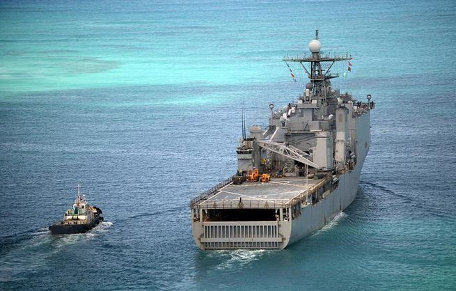 Tàu đổ bộ USS Ashland Hạm đội 7, Hải quân Mỹ.