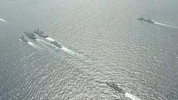 Tháng 5/2013, ba hạm đội lớn của Hải quân Trung Quốc tiến hành tập trận trên Biển Đông. Ảnh tư liệu minh họa.