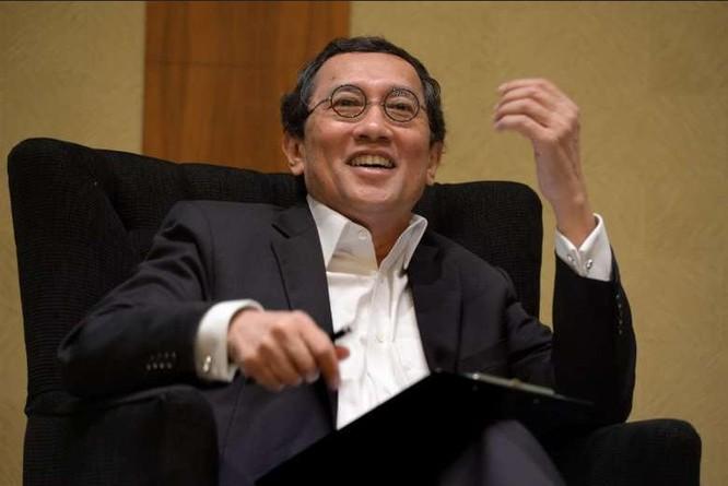 Đại sứ lưu động Bilahari Kausikan, Singapore. Ảnh: Straitstimes