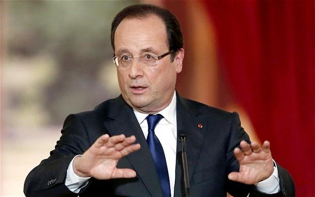 Ông Francois Hollande.