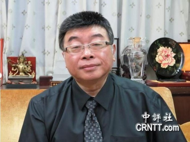 Khâu Nghị, cựu Ủy viên Lập pháp Đài Loan, thành viên Hội đồng Viện nghiên cứu Kinh tế Đài Loan. Ảnh: CRNTT.