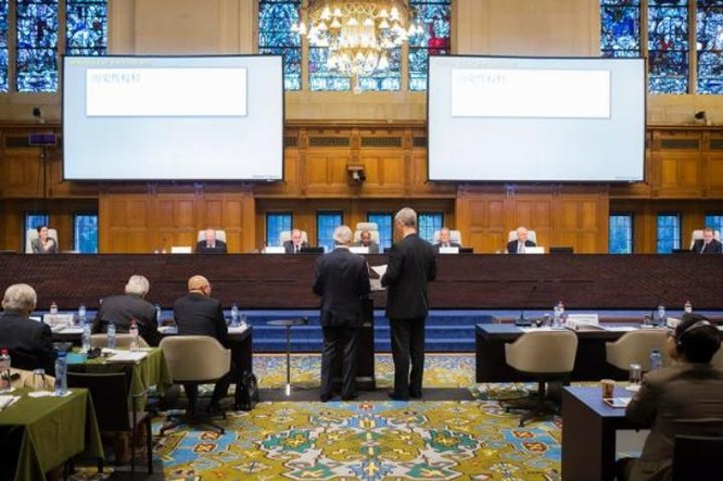 Ngày 12/7/2016, Tòa trọng tài thường trực Liên hợp quốc (PCA) sẽ đưa ra phán quyết lịch sử về vấn đề Biển Đông. Ảnh: Bành Bái, Trung Quốc.