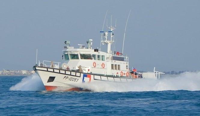 Tàu tuần duyên PP-10052 của Lực lượng tuần duyên Đài Loan. Ảnh: UDN.