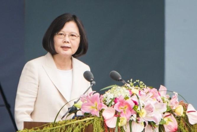 Tân Tổng thống Đài Loan, bà Thái Anh Văn. Ảnh: epochtimes.