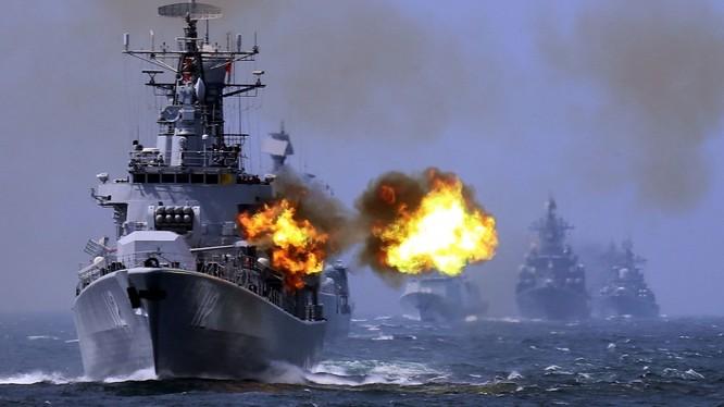 Trung Quốc đang gia tăng sức mạnh hải quân, một trong những mục đích chính là hỗ trợ yêu sách đòi hỏi chủ quyền phi pháp đối với phần lớn diện tích Biển Đông.