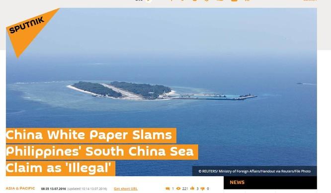 Nga chưa có động thái, phản ứng gì về phán quyết Biển Đông của Tòa PCA ảnh 6