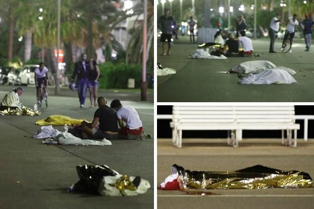 Hiện trường vụ khủng bố đẫm máu dịp Quốc khánh Pháp - ẢNH ảnh 1