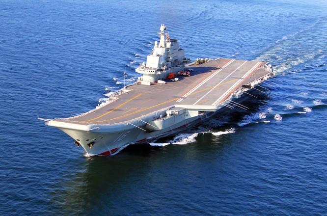 Tàu sân bay Liêu Ninh, Hải quân Trung Quốc (Ảnh tư liệu).