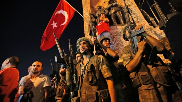 Đảo chính ở Thổ Nhĩ Kỳ.