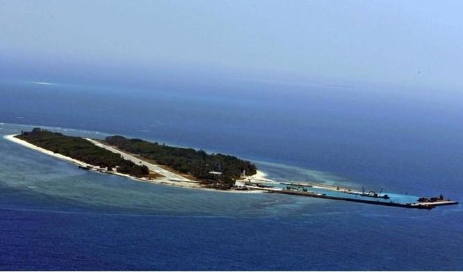 Đảo Ba Bình thuộc quần đảo Trường Sa của Việt Nam, hiện do Đài Loan chiếm đóng bất hợp pháp. Ảnh: UDN Đài Loan.