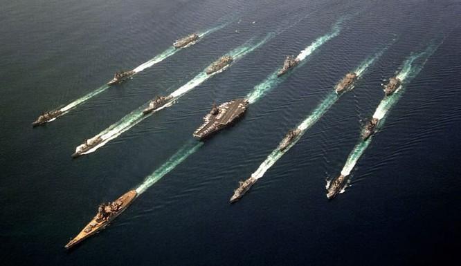 Sức mạnh Hải quân Mỹ.