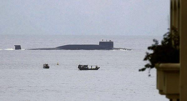 Tàu ngầm hạt nhân chiến lược mới phiên bản cải tiến Type 094, Hải quân Trung Quốc. Ảnh: Thời báo Hoàn Cầu.