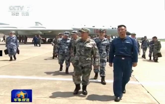 """Thượng tướng Phạm Trường Long, Ủy viên Bộ Chính trị, Phó Chủ tịch Quân ủy Trung ương Trung Quốc gần đây đã đến """"điều tra nghiên cứu"""" ở Chiến khu miền Nam."""