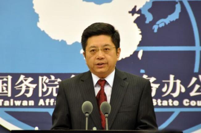 Mã Hiểu Quang, người phát ngôn Văn phòng Công tác Đài Loan của Quốc vụ viện Trung Quốc. Ảnh: Thời báo Tự do Đài Loan.
