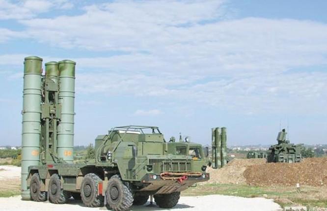Tên lửa phòng không S-400 Nga. Ảnh: Chinatimes.
