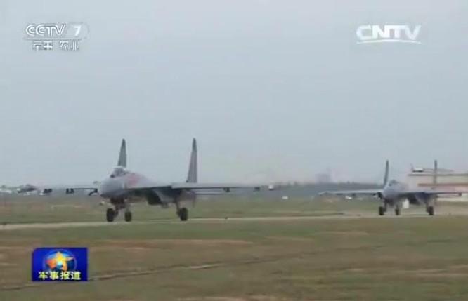 Máy bay Su-27 của Không quân Trung Quốc.