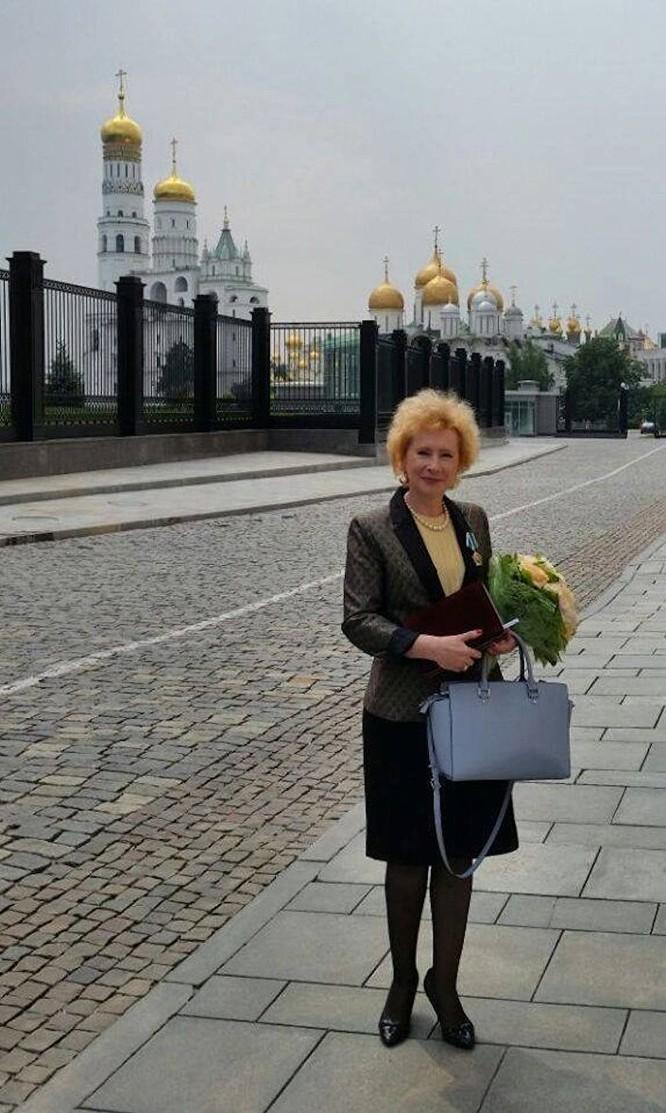 Vụ trưởng Vụ châu Á III Bộ Ngoại giao Nga Lydmila Vorobieva phụ trách về quan hệ Nga-Việt.