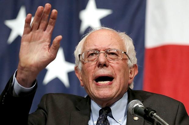 Thượng nghị sỹ Bernie Sanders.