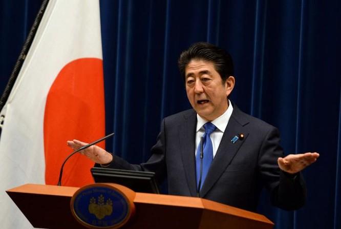 Thủ tướng Nhật Bản Shinzo Abe sẽ tham dự Hội nghị thưởng G-20 ở thành phố Hàng Châu, tỉnh Chiết Giang, Trung Quốc vào tháng 9/2016. Ảnh: Scmp