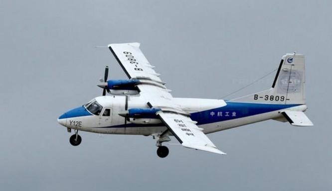 Máy bay vận tải đa dụng, 2 động cơ, hạng nhẹ Y-12. Ảnh: Thời báo Hoàn Cầu, Trung Quốc.