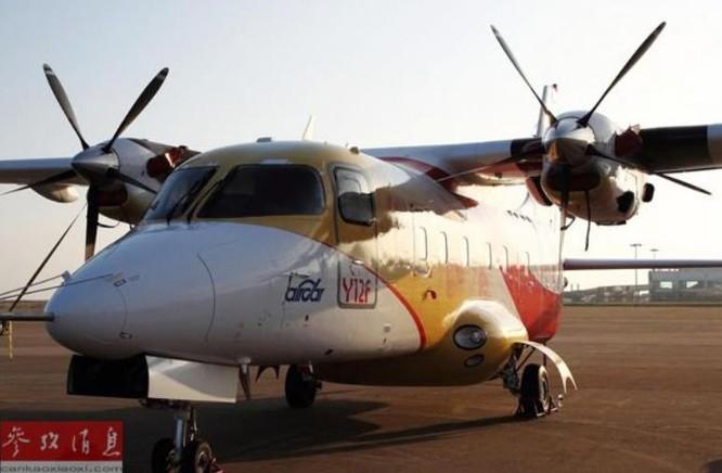 Máy bay vận tải Y-21F Trung Quốc sản xuất. Ảnh: Tin tức Tham khảo.